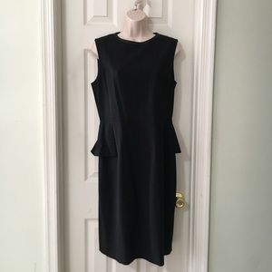 ELIE TAHARI half peplum dress